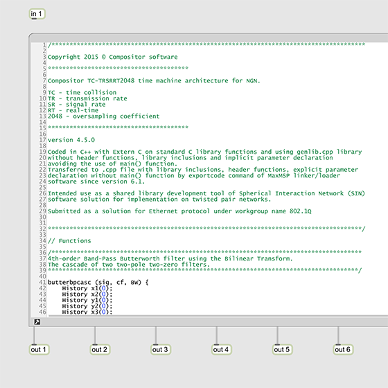Code work